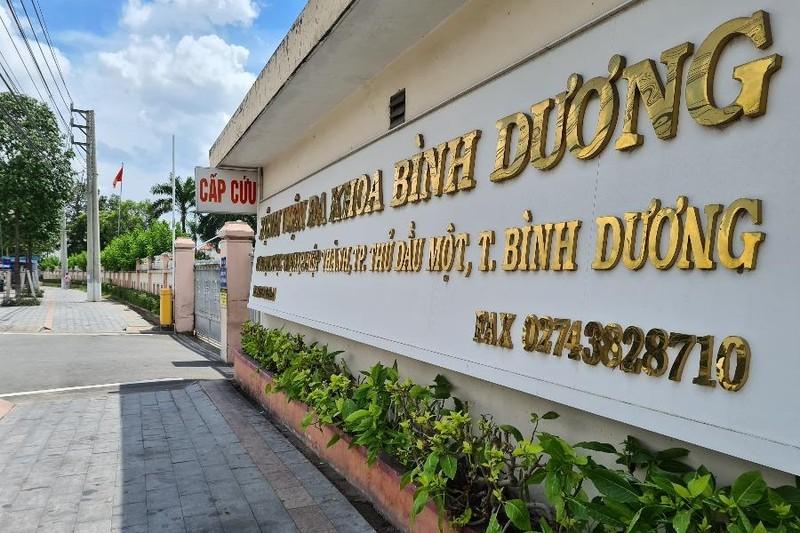 Bệnh viện đa khoa tỉnh Bình Dương ngưng tiếp nhận khám chữa bệnh  - ảnh 1