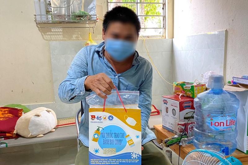 Hơn 10.000 túi thuốc điều trị COVID của Đoàn thanh niên  Bình Dương đến tay F0 - ảnh 8