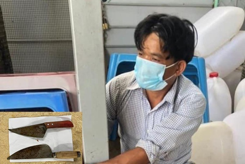 Dùng dao tấn công công an ở Bình Dương, một người bị bắt - ảnh 1