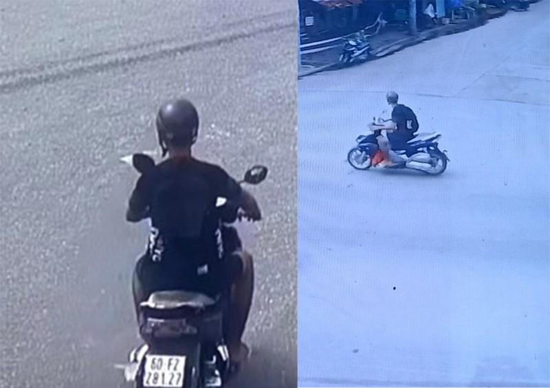 Cướp tấn công tài xế xe công nghệ bằng dao, lấy xe máy ở Bình Dương - ảnh 2