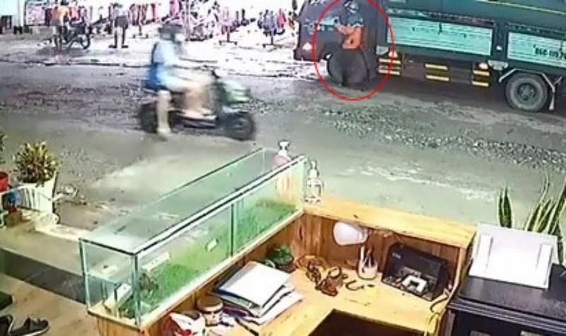 Bình Dương: Trộm lẻn lên ca bin xe tải cuỗm 350 triệu đồng - ảnh 1