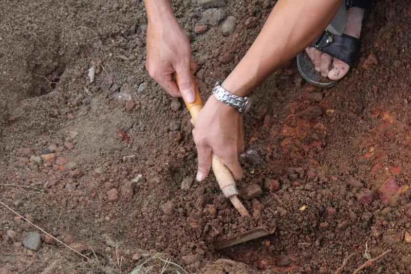 Thấy gì khi khai quật khu vực mộ vua Quang Trung  - ảnh 4