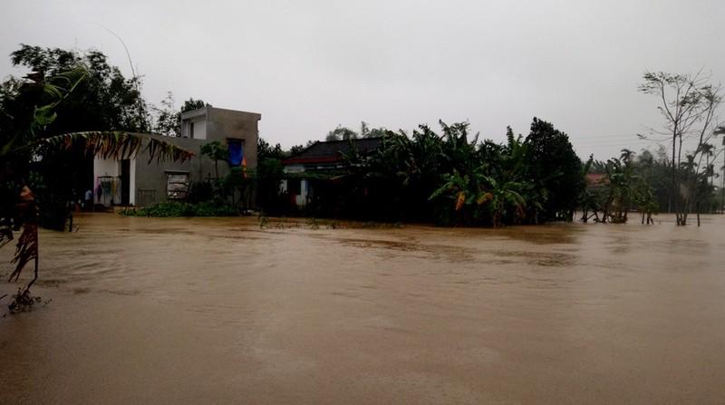 Quảng Nam: Hơn 15.300 ngôi nhà ngập trong lũ - ảnh 1