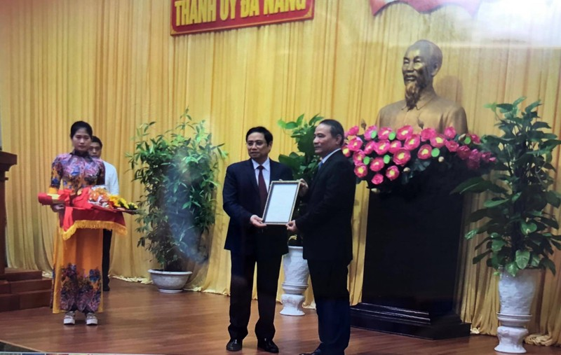 Bộ trưởng Trương Quang Nghĩa làm bí thư Đà Nẵng - ảnh 1