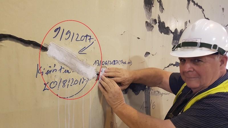 Hầm Hải Vân xuất hiện nhiều vết nứt toác nghiêm trọng - ảnh 6