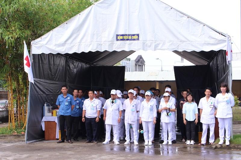 Diễn tập ứng phó với thảm họa phục vụ APEC - ảnh 12
