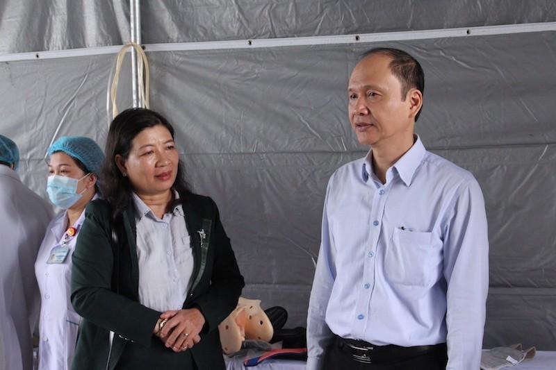 Diễn tập ứng phó với thảm họa phục vụ APEC - ảnh 13