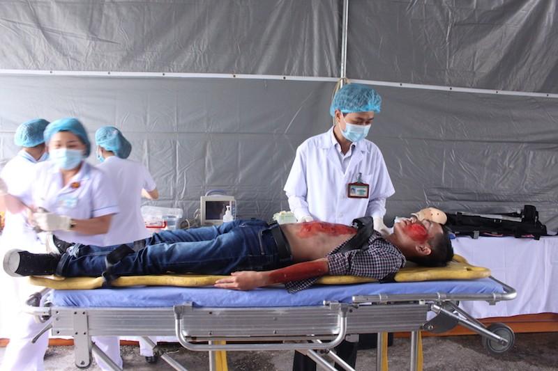 Diễn tập ứng phó với thảm họa phục vụ APEC - ảnh 5