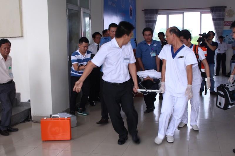 Diễn tập ứng phó với thảm họa phục vụ APEC - ảnh 9