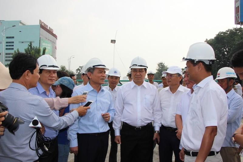 Bí thư, chủ tịch Đà Nẵng lại đốc thúc hầm chui 118 tỉ  - ảnh 1