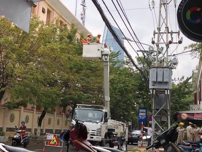 Diễn tập đảm bảo điện cho APEC 2017 - ảnh 2