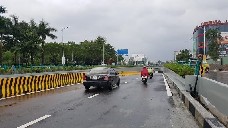 Hầm chui 118 tỉ đồng của Đà Nẵng chính thức thông xe - ảnh 1