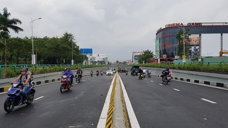 Hầm chui 118 tỉ đồng của Đà Nẵng chính thức thông xe - ảnh 9