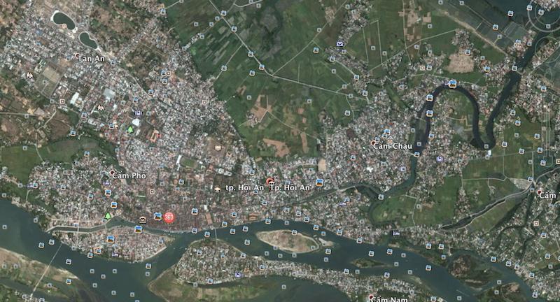 Hội An và vùng trũng Đà Nẵng ngập chìm trong lũ - ảnh 1