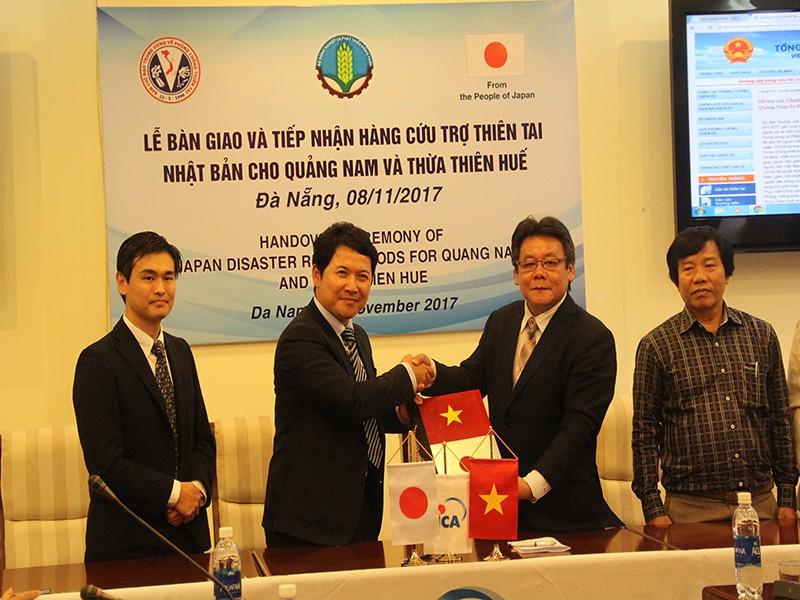 Nhật Bản hỗ trợ máy lọc nước cho vùng lũ - ảnh 1