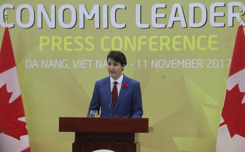 Thủ tướng Canada nói về việc vắng mặt tại cuộc họp TPP  - ảnh 2