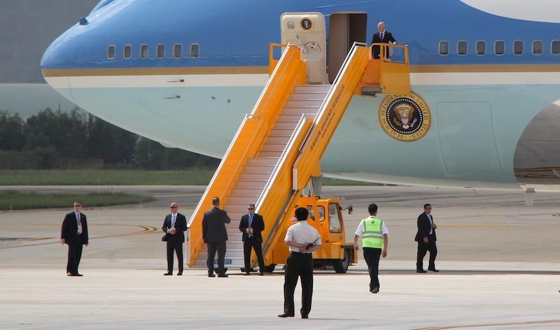 Những hình ảnh đặc biệt về đặc vụ Mỹ bảo vệ ông Trump - ảnh 12