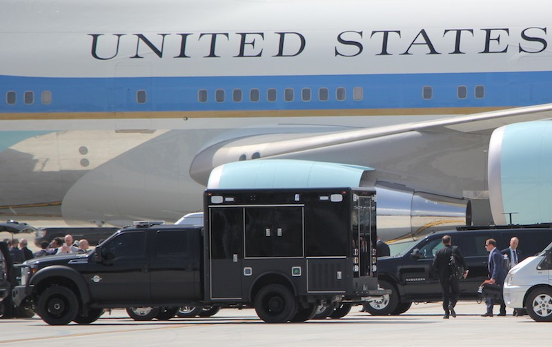 Những hình ảnh đặc biệt về đặc vụ Mỹ bảo vệ ông Trump - ảnh 13