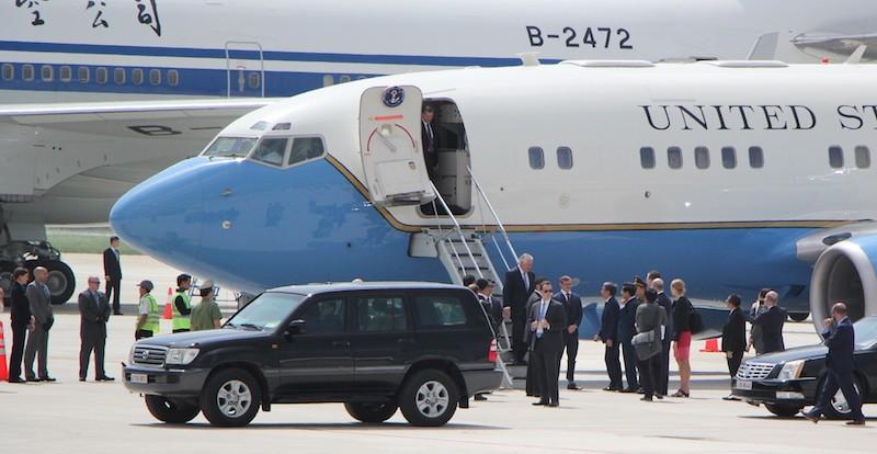 Những hình ảnh đặc biệt về đặc vụ Mỹ bảo vệ ông Trump - ảnh 5