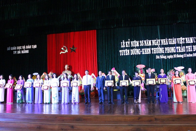 Đà Nẵng: 6 Nhà giáo ưu tú được Thủ tướng vinh danh  - ảnh 1