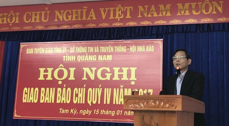 Quảng Nam: Đang xử lý cán bộ sau kết luận của UBKTTƯ - ảnh 1