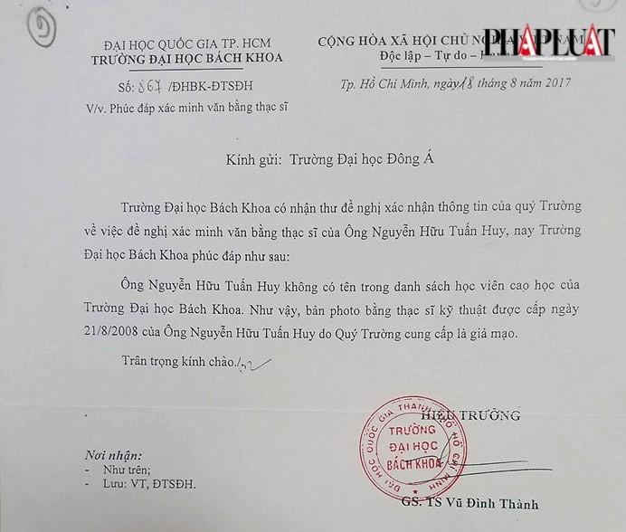 Đà Nẵng: Khởi tố tiến sĩ giả bôi nhọ lãnh đạo trường - ảnh 1