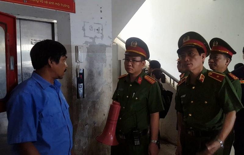 Bộ Công an kiểm tra PCCC các chung cư ở Đà Nẵng - ảnh 1