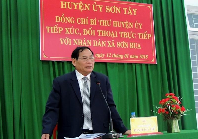 Một trưởng phòng Tài nguyên ở Quảng Ngãi bị khai trừ đảng  - ảnh 1