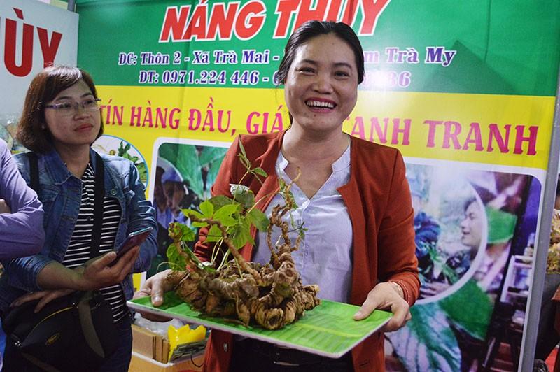 Nông dân Quảng Nam bán 1 tạ sâm thu về 8 tỉ đồng - ảnh 1