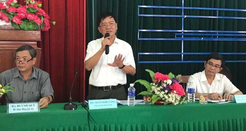 Chủ tịch tỉnh Quảng Ngãi đối thoại với dân về nhà máy rác - ảnh 2