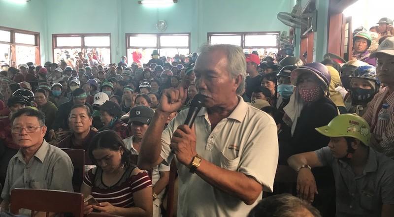 Chủ tịch tỉnh Quảng Ngãi đối thoại với dân về nhà máy rác - ảnh 1