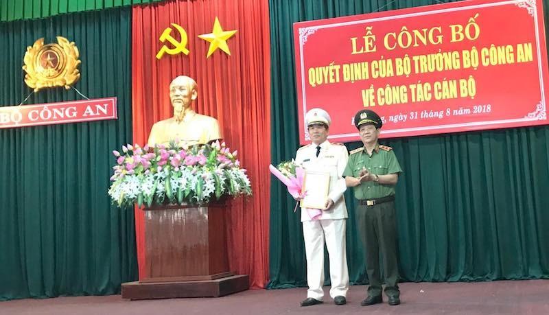 Thiếu tướng Vũ Xuân Viên làm giám đốc Công an TP Đà Nẵng - ảnh 1
