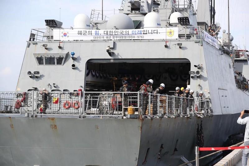 Khu trục hạm Hàn Quốc mang tên lửa hành trình tới Đà Nẵng - ảnh 2