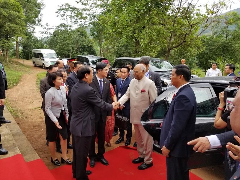 Tổng thống Ấn Độ thăm di sản Mỹ Sơn - ảnh 1