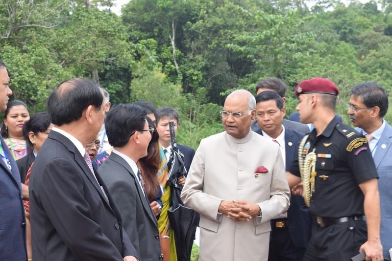 Tổng thống Ấn Độ thăm di sản Mỹ Sơn - ảnh 3