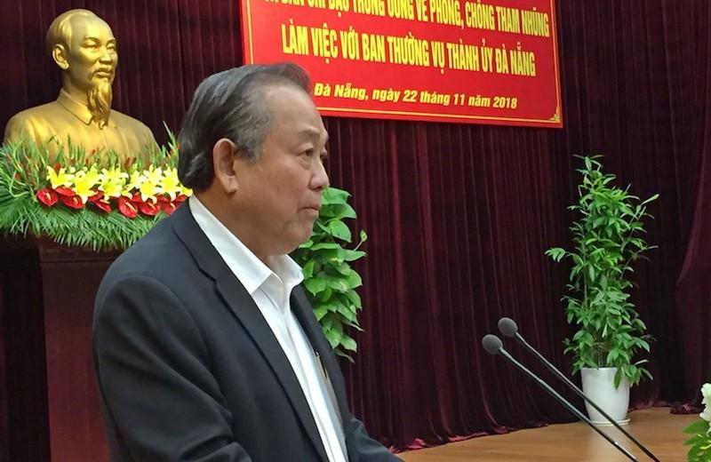 Kiểm tra việc thu hồi tài sản án tham nhũng tại Đà Nẵng - ảnh 1