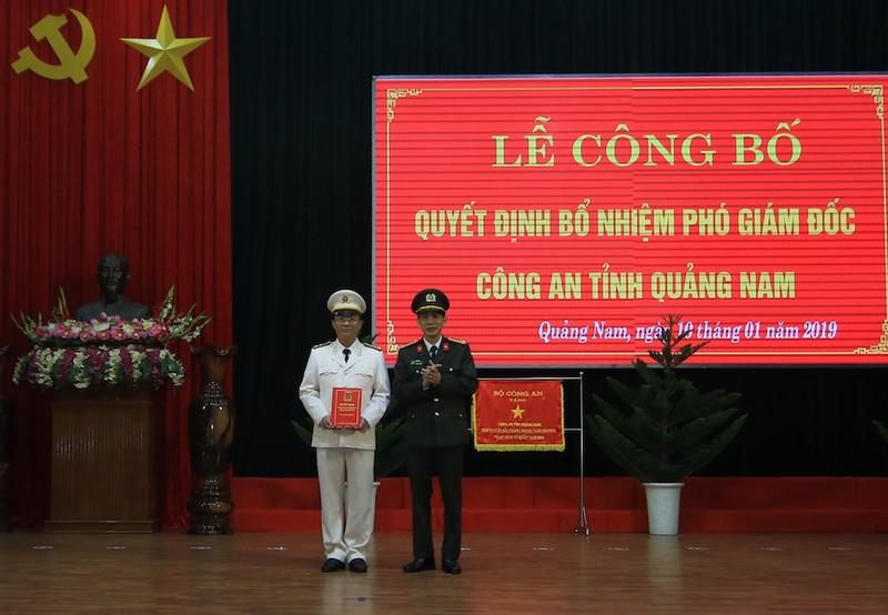 Quảng Nam có tân Phó Giám đốc Công an tỉnh - ảnh 1