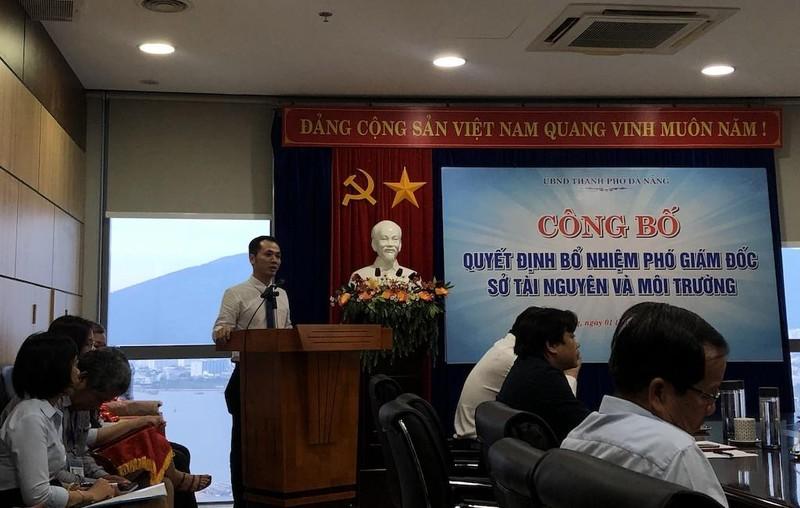 Thư ký Chủ tịch Đà Nẵng làm phó giám đốc Sở TN&MT - ảnh 2