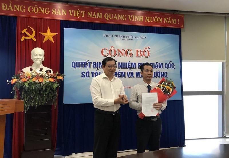 Thư ký Chủ tịch Đà Nẵng làm phó giám đốc Sở TN&MT - ảnh 1
