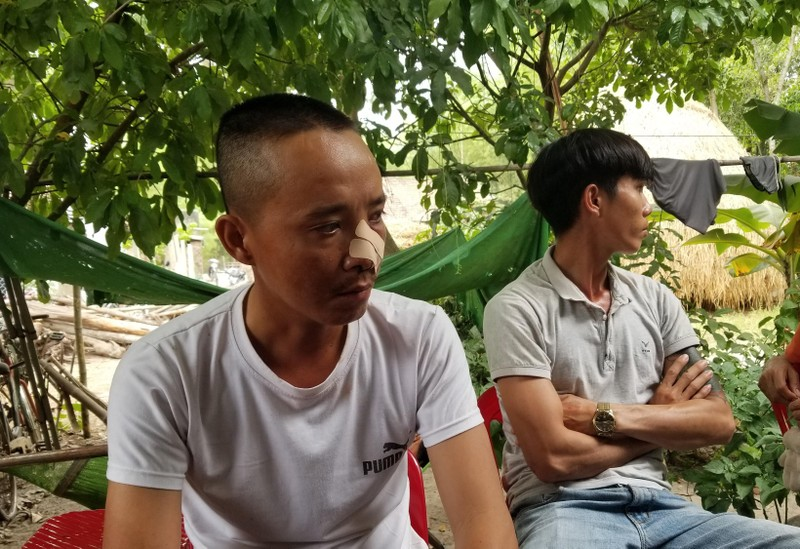 Vụ 3 cha con bị truy sát: Nạn nhân kể lại sự việc - ảnh 2