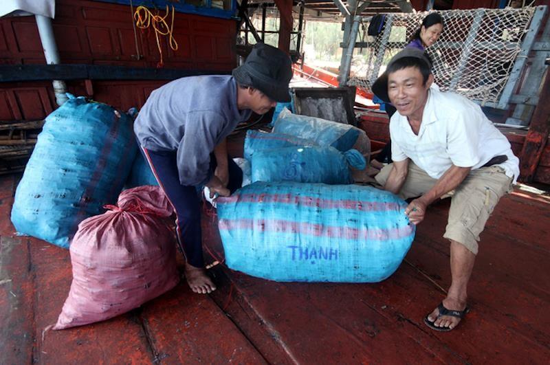 930 tấn mực khô ứ đọng vì Trung Quốc không mua - ảnh 1