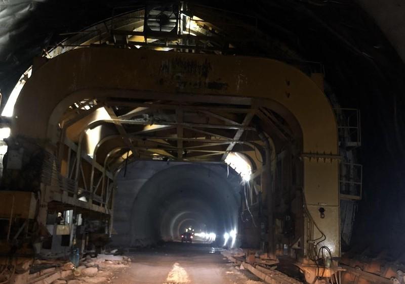 Sắp hoàn thành việc mở rộng hầm Hải Vân 2 - ảnh 2
