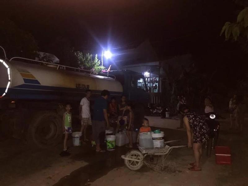 Dân Đà Nẵng nháo nhào trong đêm vì cúp điện-nước - ảnh 1