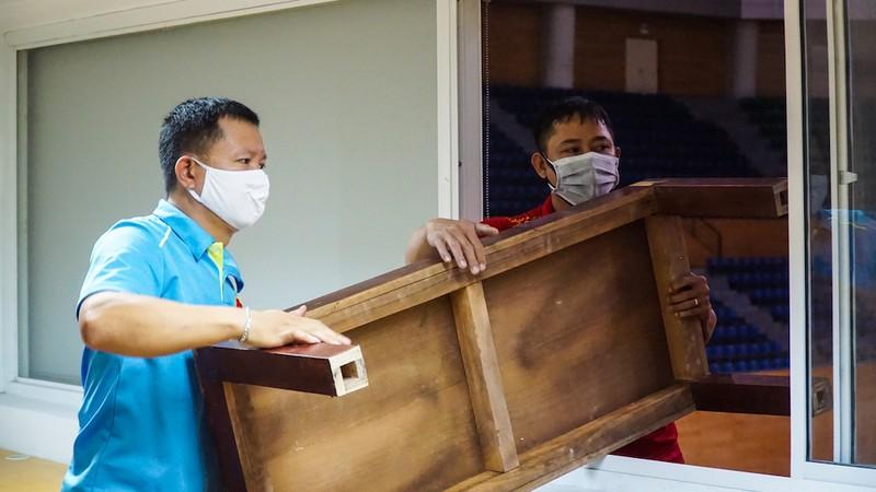 Bên trong bệnh viện dã chiến đầu tiên tại Đà Nẵng - ảnh 5