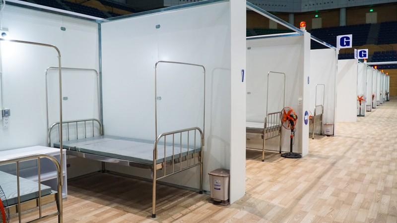 Bệnh viện dã chiến Tiên Sơn 2.000 giường trước giờ bàn giao - ảnh 3