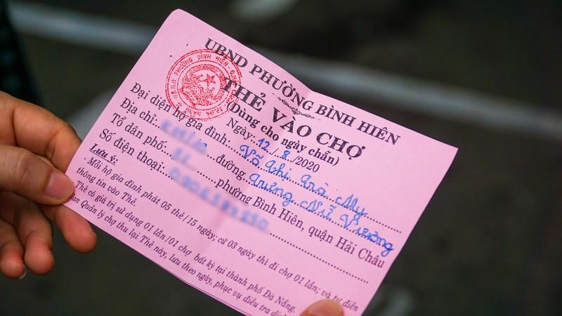 Từ hôm nay, người dân Đà Nẵng đi chợ bằng Thẻ - ảnh 4