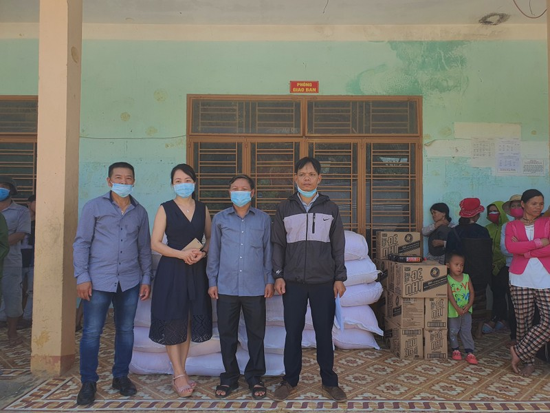 FVG trao tặng 1.000 phần quà cho đồng bào miền núi Quảng Nam - ảnh 1