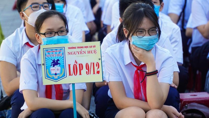 Đà Nẵng: Học sinh hào hứng trong ngày đầu tiên trở lại trường - ảnh 4