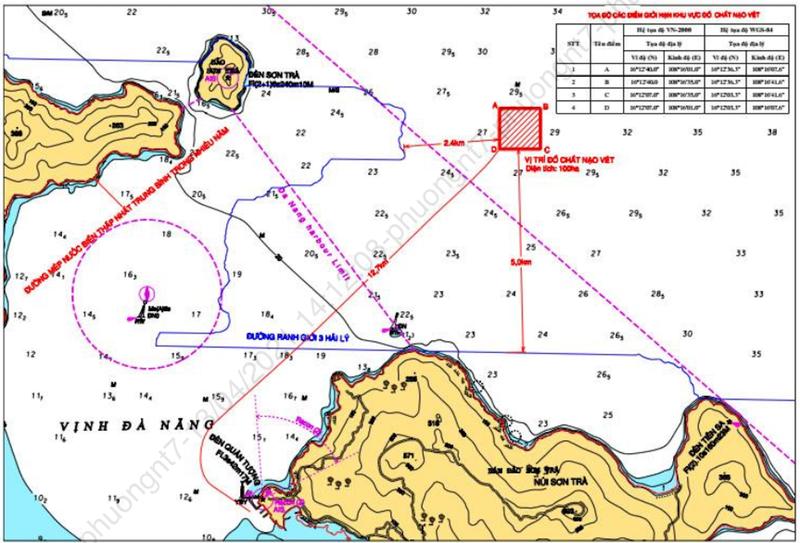 Đà Nẵng phản hồi vụ nhận chìm 200.000 m3 vật chất - ảnh 1