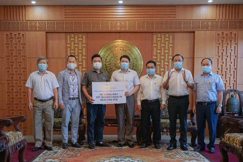 Quảng Nam được tặng hệ thống máy xét nghiệm Realtime PCR - ảnh 1